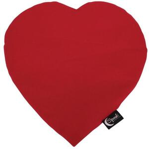 "Sposh Heart-Shaped Heat Pack - Red 13""L x 12""W - Includes Removable Washable Cover"