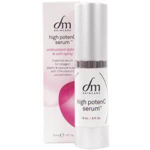 dmSkincare High PotenC Serum | Improves Skin Tone + Appearance + Leaves Skin Illuminated 0.6 fl. oz. - 18 mL.