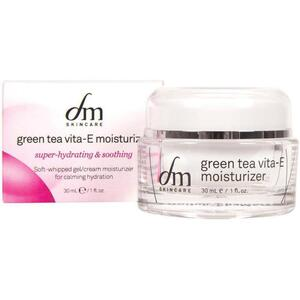 dmSkincare Green Tea Vita-E Moisturizer | Nourishes Skin with Shea Butter and Aloe 1 fl. oz. - 30 mL.