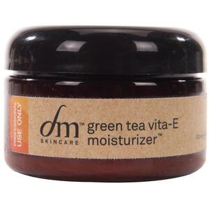 dmSkincare Green Tea Vita-E Moisturizer | Nourishes Skin with Shea Butter and Aloe 4 fl. oz. - 118 mL.