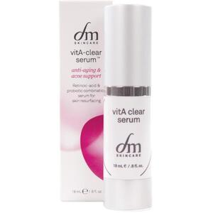 dmSkincare Vita A Clear Serum | Modulates Oil Secretions + Encourages Healthy Skin Cell Turnover 0.6 fl. oz. - 18 mL.