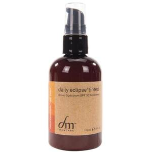 dmSkincare Daily Eclipse Tinted - SPF 30 Sunscreen | Broad Spectrum UVA-UVB Mineral Sunscreen 4 fl. oz. - 118 mL.