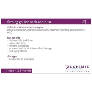 Alchimie Forever - Shelf-Talkers Firming Gel for Neck and Decollete