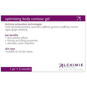 Alchimie Forever - Shelf-Talkers Optimizing Body Contour Gel