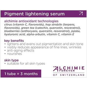 Alchimie Forever - Shelf-Talkers Pigment Lightening Serum
