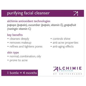 Alchimie Forever - Shelf-Talkers Purifying Facial Cleanser