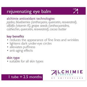 Alchimie Forever - Shelf-Talkers Rejuvenating Eye Balm