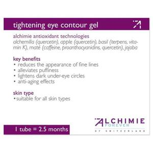 Alchimie Forever - Shelf-Talkers Tightening Eye Contour Gel