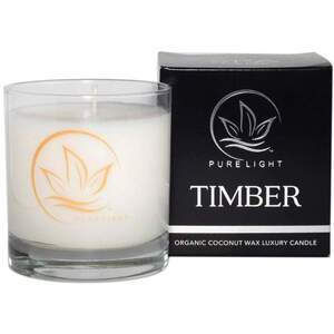 Pure Light Luxury Candle - Timber 7.5 oz.