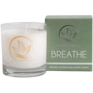 Pure Light Luxury Candle - Breathe 7.5 oz.