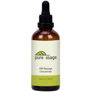 Pure-ssage CBD Massage Concentrate Broad Spectrum 3.38 fl.oz. 2000 mg.