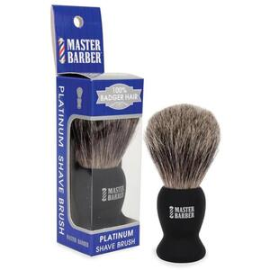 Master Barber Platinum Shave Brush