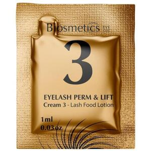 Intensive Lash Perming + Lash Lifting - STEP 3 - Lash Food Lotion - Lash Conditioner for Lifts 10 Sachets - 1 mL. Each