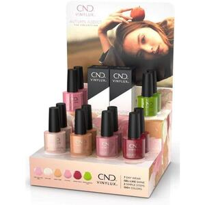 CND Vinylux - Autumn Addict Collection - 14 Piece Pop Display - 7 Day Air Dry Nail Polish