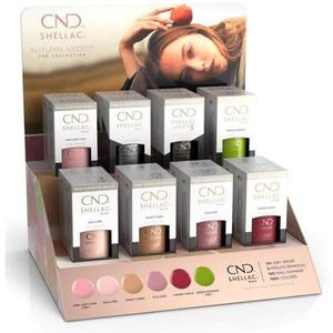 CND Shellac - Autumn Addict Collection - 16 Piece Pop Display - The 14 Day Manicure is Here!
