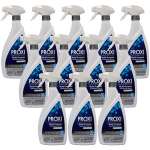 EcoLogic Solutions - Peroxygenated CleanerDisinfectant Case of (12) 26 oz. Spray Top Bottles