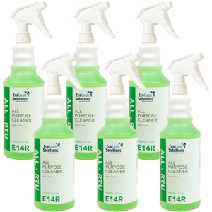 EcoLogic Solutions - All Purpose Cleaner - Ready to Use Case of (6) 32 oz. Spray Top Bottles