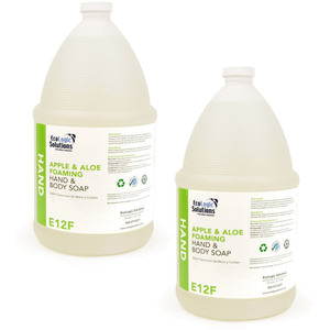 EcoLogic Solutions - Foaming Hand Soap with Aloe & Apple Fragrance Case of (2) 1 Gallon Containers