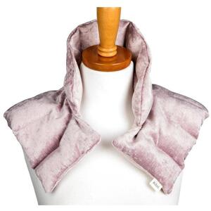 "Kozi - Comforting Shoulder Wrap Material: Velour Size: 17""L x 16""W Color: Blush"