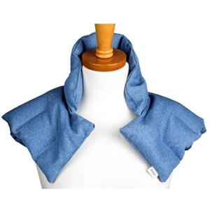 "Kozi - Comforting Shoulder Wrap Material: Twill Size: 17""L x 16""W Color: Chambray"