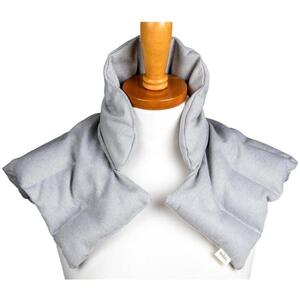 "Kozi - Comforting Shoulder Wrap Material: Twill Size: 17""L x 16""W Color: Grey Heather"