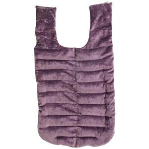 "Kozi - Revitalizing Back Wrap Material: Velour Size: 28""L x 15""W Color: Amethyst"