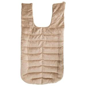 "Kozi - Revitalizing Back Wrap Material: Velour Size: 28""L x 15""W Color: Jute"