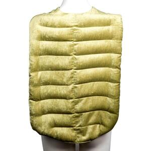 "Kozi - Revitalizing Back Wrap Material: Velour Size: 28""L x 15""W Color: Pear"