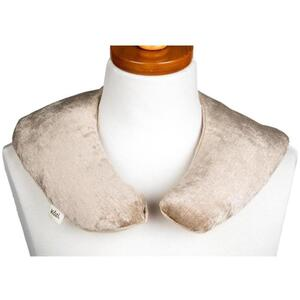 "Kozi - Soothing Neck Wrap Material: Velour Size: 13""L x 13.5""W Color: Jute"