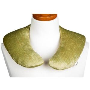 "Kozi - Soothing Neck Wrap Material: Velour Size: 13""L x 13.5""W Color: Pear"