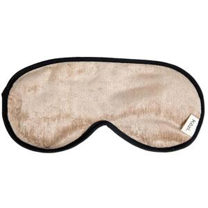 "Kozi - Restoring Eye Mask Material: Velour Size: 9""L x 4""W Color: Jute"