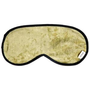 "Kozi - Restoring Eye Mask Material: Velour Size: 9""L x 4""W Color: Pear"