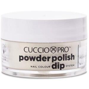 Cuccio Pro - Powder Polish Nail Colour Dip System -Gold with Rainbow Mica 0.5 oz.