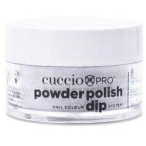 Cuccio Pro - Powder Polish Nail Colour Dip System -Deep Silver 0.5 oz.