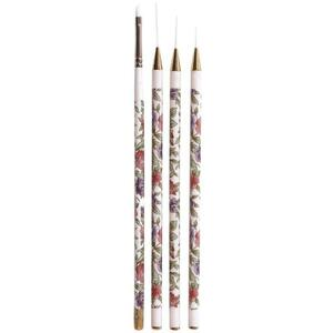 Cuccio Pro - Nail Art Brushes 4 Pack