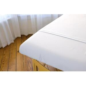Sposh Premium Waterproof Microfiber Massage Table Protective Cover - White Case of 20 Sheets