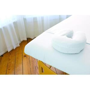 Sposh Premium Waterproof Microfiber Protective Face Rest Cover - White