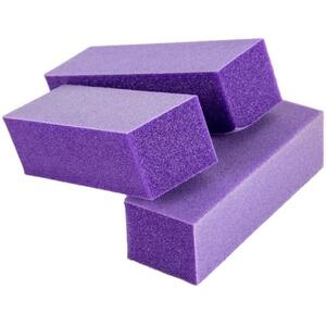 Cuccio Pro 3 Way Purple Sanding Block - 180280280 Grit