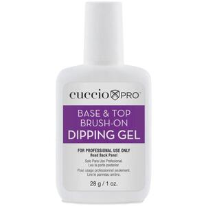 Cuccio Pro Brush & Dip Brush-On Glue 28 Grams - 1 oz.