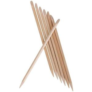 "Complete Pro 4"" Birchwood Cuticle Sticks Case = (50) Packs of 100 = 5000 4"" Cuticle Sticks"
