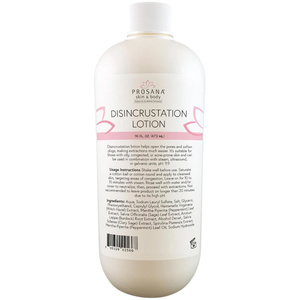 Disincrustation Lotion - Suitable for Oily Congested or Acne-Prone Skin - Use in Combination With Steam Ultrasound or Galvanic Units 16 oz.