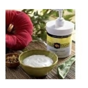 Lotus Touch Organic Naturals Massage Cream 16 oz