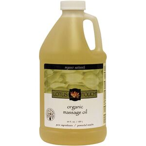 Lotus Touch Organic Naturals Massage Oil 64 oz.