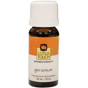 Lotus Touch Geranium Essential Oil 10 mL (LTE100