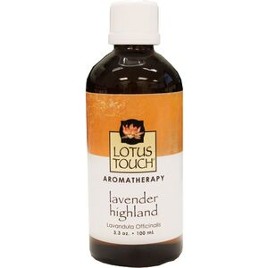 Lotus Touch Lavender Highland Essential Oil 100