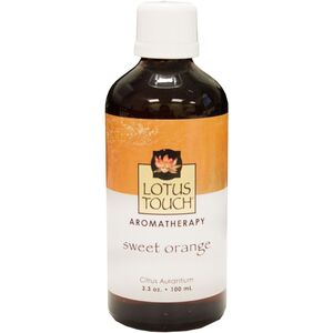 Lotus Touch Sweet Orange Essential Oil 100 mL (L
