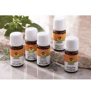 Lotus Touch Single Note Essential Oil Trial Kit (L