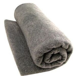 Washable Wool Blend Blanket Gray (WWB2)