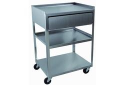 3 Shelve Trolley wDrawer and 6 Position Power Str