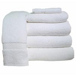 Standard Bath Towel 24x50 White CoPo (062 0003)